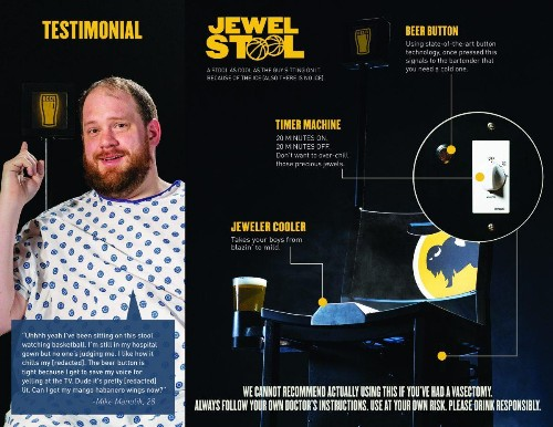 Buffalo Wild Wings Introduces 'Jewel Stool' And Other Activations For March Madness