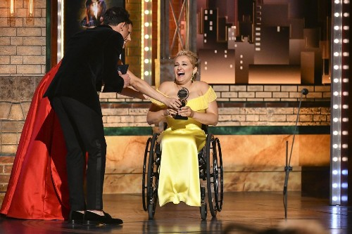 Ali Stroker's Tony Award Was Only Broadway's First Step To Disability Inclusivity
