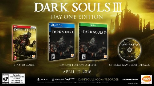 'Dark Souls 3' Collector's Edition, Day One Edition Detailed
