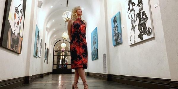 The Artist Who's Drawing L.A.'s Hotel Figueroa In A New Light