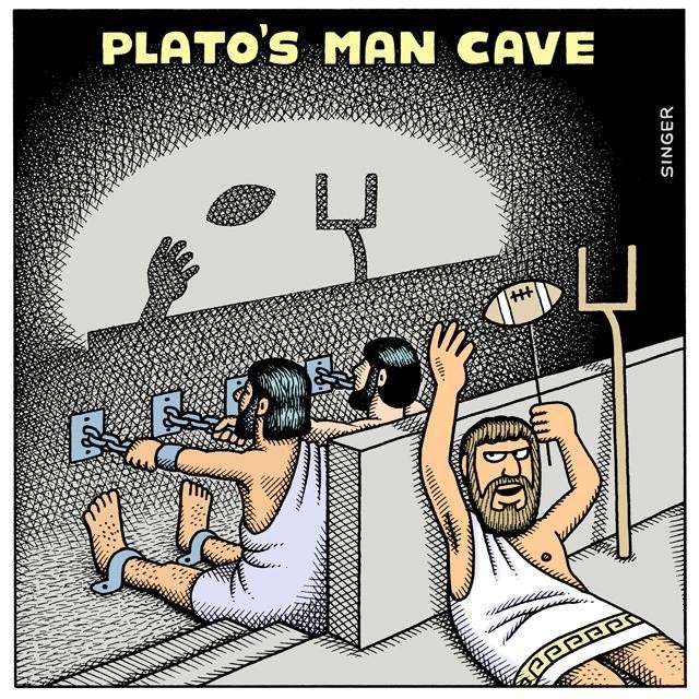 Plato's Cave Allegory Gets An Update ... But Still No HDTV