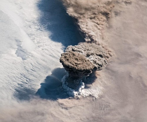 NASA Astronauts And Satellites Capture Breathtaking Images Of An Awakening Volcano From Space