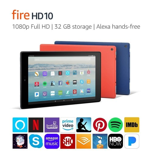 Save $50 on Amazon Fire HD 10 For Prime Members Today