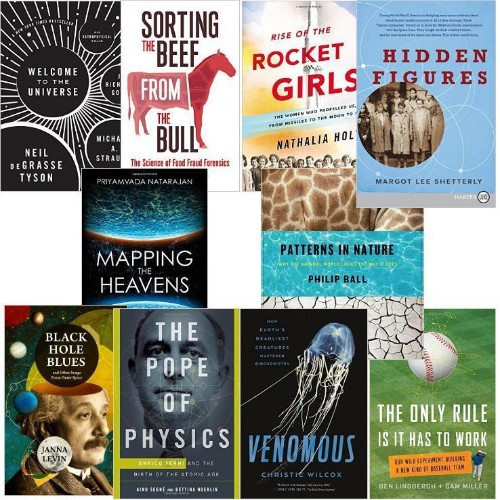The 10 Best Popular Science Books of 2016: Maths, Physics, Chemistry