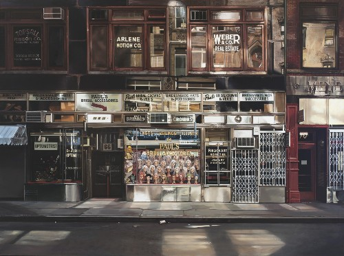 How Richard Estes Makes His Paintings of New York More Accurate Than Photographs