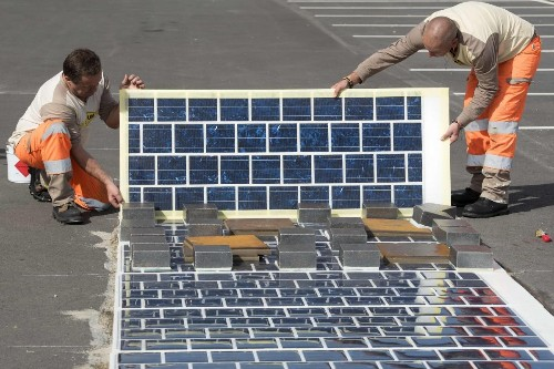 Colas Paves Future Roads With Solar