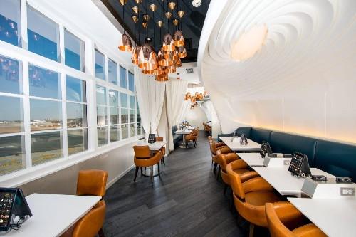 United Has Been Hiding A Secret Restaurant At Newark Airport