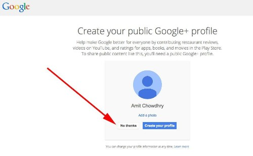 Signing Up For Gmail No Longer Requires A Google+ Account
