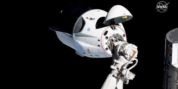 SpaceX's Crew Dragon Spacecraft Just Docked With The International Space Station