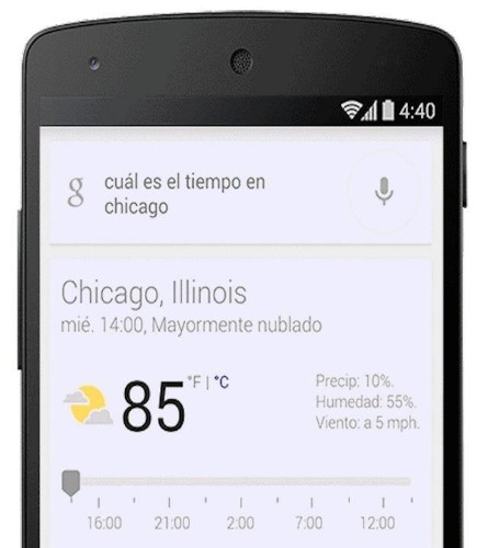 Google's Voice Search For Android Now Recognizes 5 Different Languages At Once