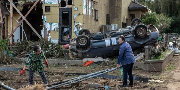 Images of Typhoon Hagibis Overwhelming Japan Are Stunning