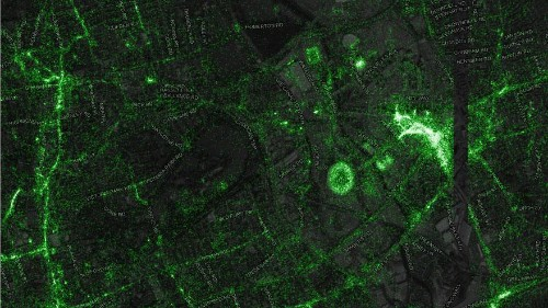 Here's What 6 Billion Tweets Looks Like Mapped