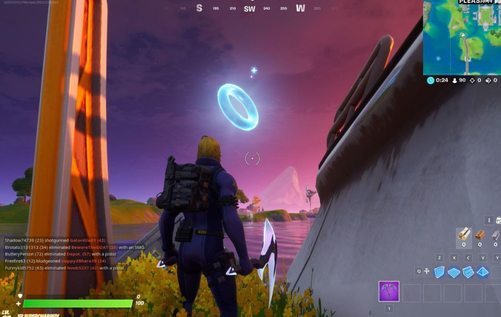 'Fortnite' Pleasant Park Floating Ring Locations: Where To Collect Floating Rings