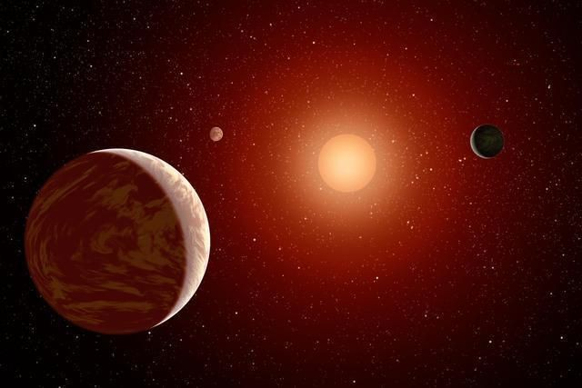 It Only Takes A Few Thousand Years For Jupiter-Like Planets To Form Around Red Dwarf Stars