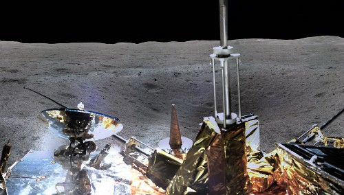 Here Is The Breathtaking First Panorama Of The Far Side Of The Moon