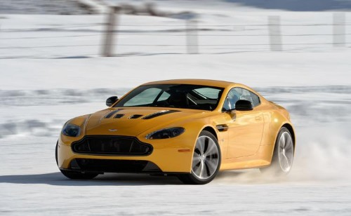 Aston Martins on Ice: The Most Fun You Can Have with Your Snow Tires On