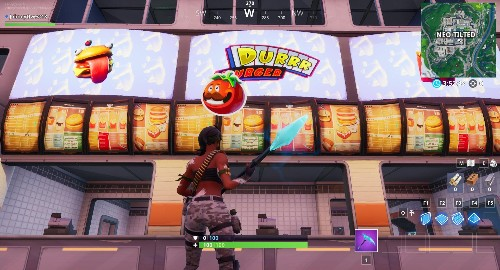 'Fortnite' Fortbyte #41 Location: Accessible By Using The Tomatohead Emoticon Inside Durrr Burger