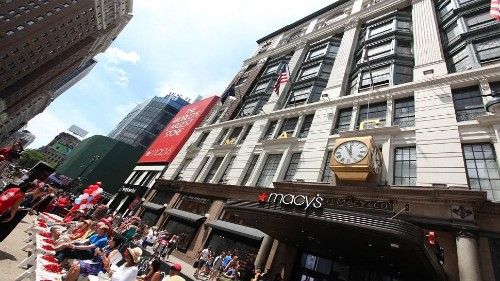 Macy's Shares Slide As Retailer Plans Restructuring And Store Closures