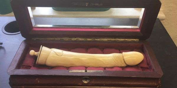 This Irish Sex Shop Owner Crowd-Funded An Auction Bid To Win Back A Victorian Dildo From A U.S. Collector