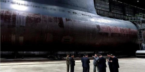 North Korea Appears To Have Built Its First Real Ballistic Missile Submarine
