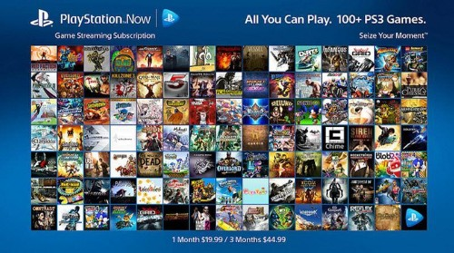 Sony Reveals 'PlayStation Now' Monthly Subscription Model At Last