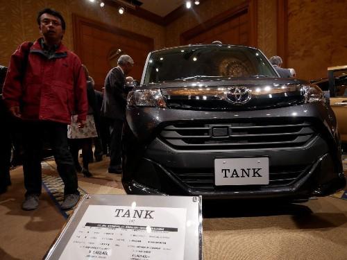Toyota Sells Tanks