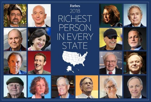 How The Wealthiest Person In Every State Got Rich
