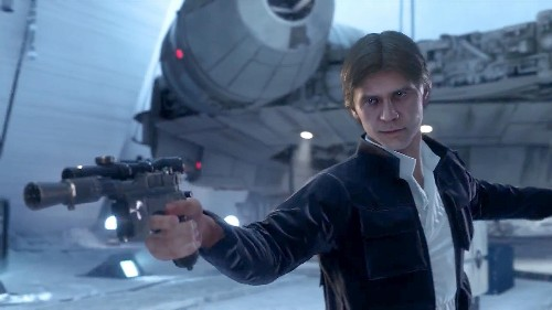The New 'Star Wars: Battlefront' Trailer Has Han Definitely Shooting First