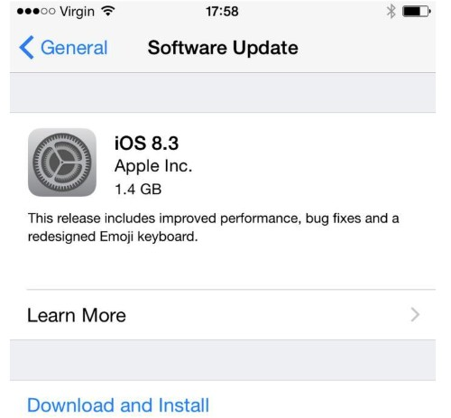 Apple iOS 8.3 Angers Users One Week Later