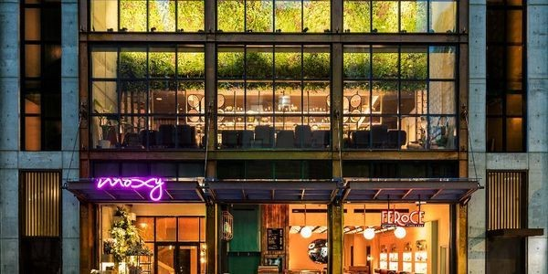 It's All About Neighbourhood Vibes As Moxy Opens A Third NYC Hotel