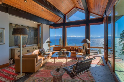 Unique North Lake Tahoe House Built For Lovers Of Innovative Design
