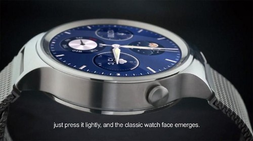 Huawei Watch Leaks Ahead Of MWC And It's Kind Of Hot, With Android Wear