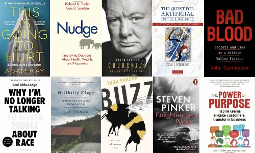 15 Leaders Recommend Their Book Of The Year - Just In Time For Christmas