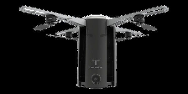 Shenzhen Startup LeveTop's T1 Is A 'Happy Medium' Consumer Drone With A Standout Vertical Design