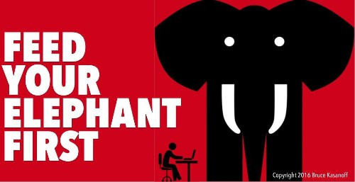 Feed Your Elephant First: 8 Ways To Remember What Matters Most To You