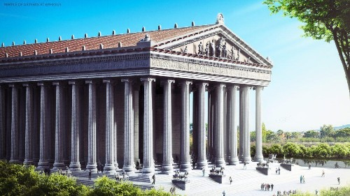Reconstructing The Seven Ancient Wonders In The Digital World