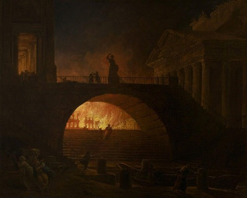 July 18, 64: The Great Fire Of Nero And The Ancient History Of Firefighting