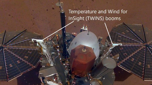 NASA's New Mars InSight Weather Station Detects Bizarre Infrasound