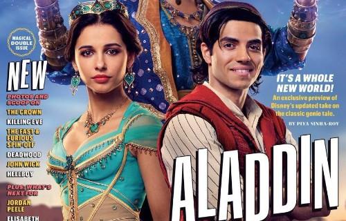 'Aladdin' Photos Reveal Will Smith's Genie, Who Looks Like ... Will Smith As The Genie