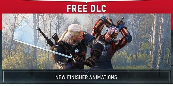 The Latest Free 'Witcher 3' DLC: New Finisher Animations