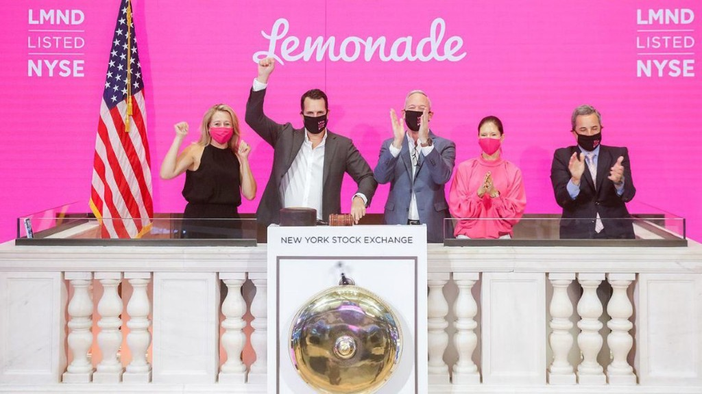Lemonade Stock Soars Over 100% On First Day Of Trading, But When Will It Post A Profit?