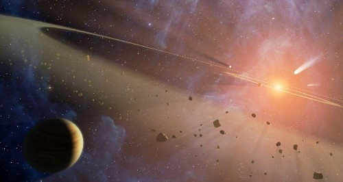 A New Binary Star Asteroid Belt Teaches Us About How Planets Form