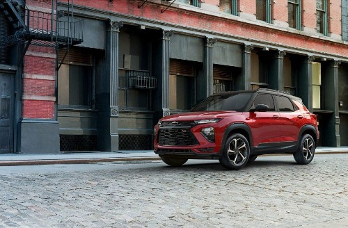 Chevy Resurrects Trailblazer As A Small Crossover