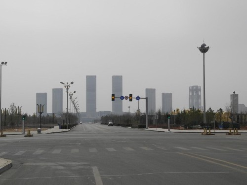 China's Largest Ghost City Is Now Almost Completely Full - But There's A Twist
