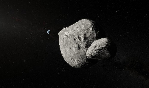 'Very Large Telescope' Takes Astonishing Photo Of 'Double Asteroid' As It Whizzes By At 43,000 Mph