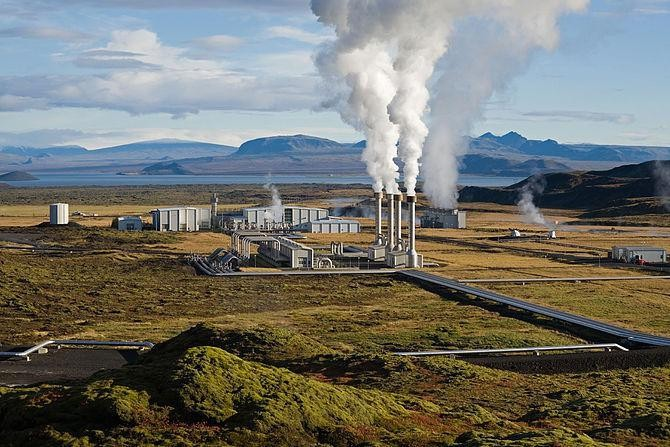 Geothermal Power Steaming Over Wind And Solar Energies