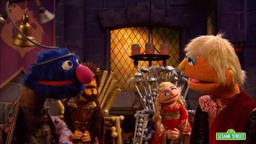 Even 'Sesame Street' Has A 'Game Of Thrones' Parody