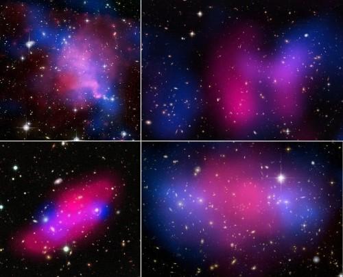Do Dark Matter And Dark Energy Affect Ordinary Atoms?