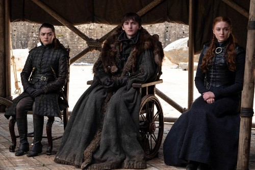 That Hugely Controversial 'Game Of Thrones' Ending Was George R.R. Martin's Idea