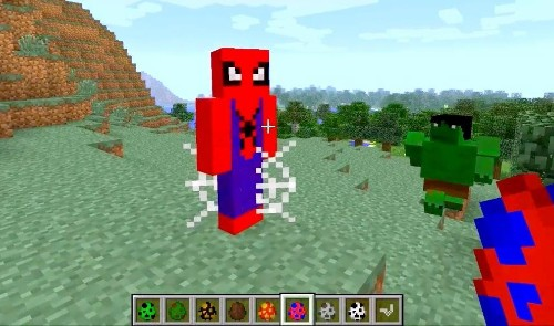 Marvel Unofficially Explodes Into 'Minecraft'
